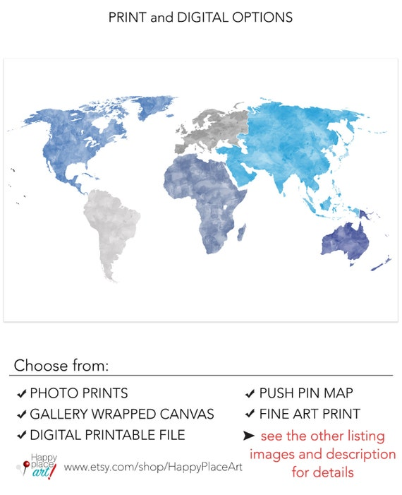 Huge world map without borders world map wall art poster with gumiabroncs Images