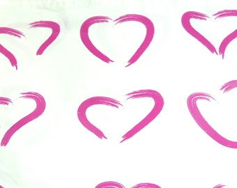 20 Pack Pink Heart Print Poly Mailers, Flat Poly Mailing Shipping Bags, Pink Colored Poly Mailer Shipping Envelope Poly Shipping Bag