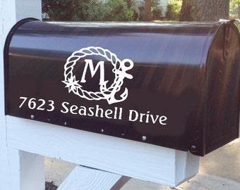 Nautical Mailbox Etsy