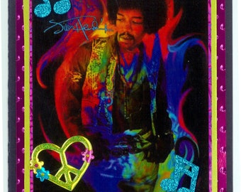 Jimi Hendrix birthday card