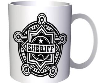 Sheriff s badge 11oz Mug u589