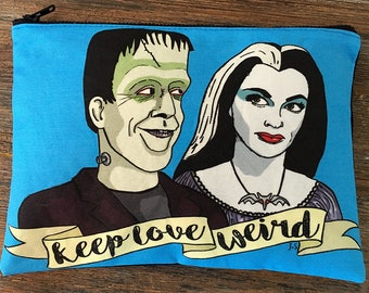 Munsters Pouch with Original Artwork