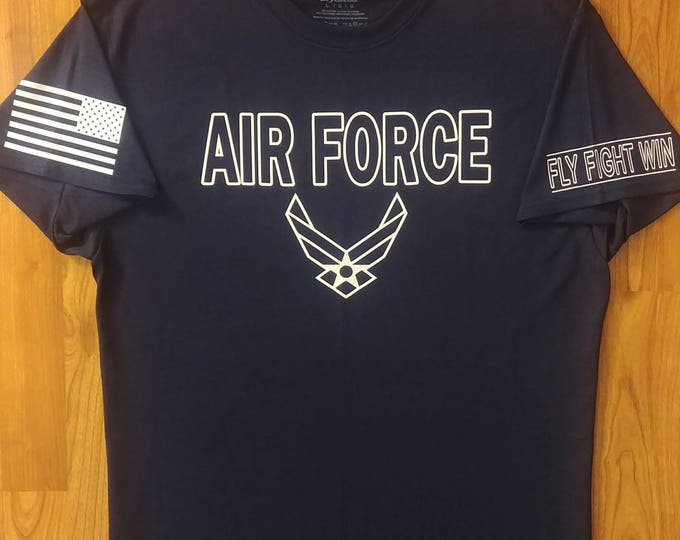 U.S. Air Force - Air Force Veteran - Air Force Shirt Women - Air Force Shirt Men - Air National Guard - Air Force Wife - Unisex Tee - Airman