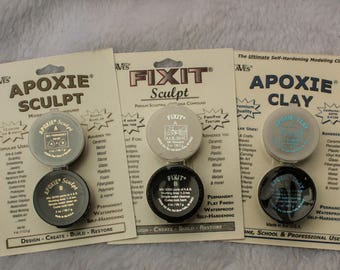 Aves Apoxie Clay Apoxie Sculpt or Fix It Adhesive Putty