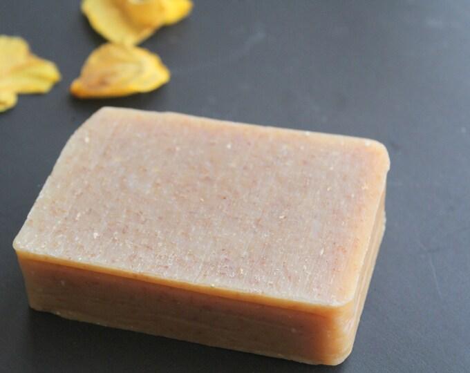 Oatmeal Honey, All Natural, Eczema Soap w/ bees wax. fragrance free