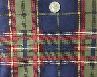 Beautiful Heavyweight Flannel 1 1/4 yards 54 inches wide