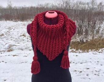 Womens Scarf, Knit Scarf, Knit Womens Scarf, Scarf Women, Tassel Scarf, Knitted Scarf, Womens Tassel Scarf, Scarf Knitted, Crochet Scarf