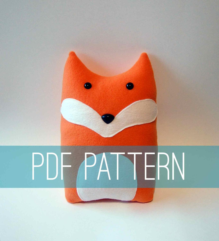 pink pillow fox foxpillow woodland product mejmej