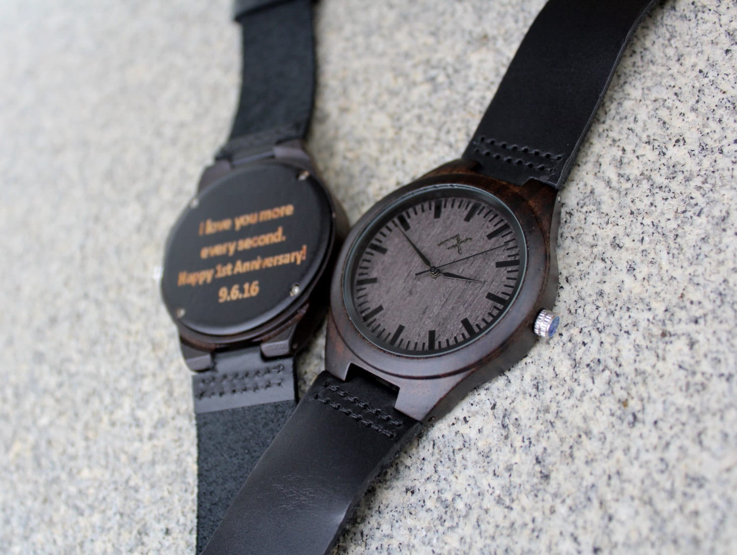 Mens wood watch free engraving wooden watch gift for him wood watch personalized wood watch for Watches engraved