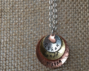 Mother / Grandmother necklace