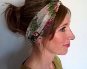 Turban Twist front headband, Silver Headband, Fashion Headband, ladies headband, gift for her, gift for girlfriend, Trendy hair accessory