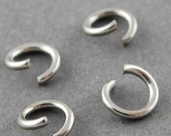 1000 Pcs 4 mm Stainless Steel Jump Rings | Jump Rings | Split Rings | Bracelet Rings | Necklace Rings | JumpRings