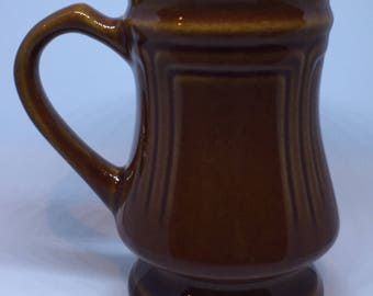 Rare Footed Brown Ultima Mug with Detail