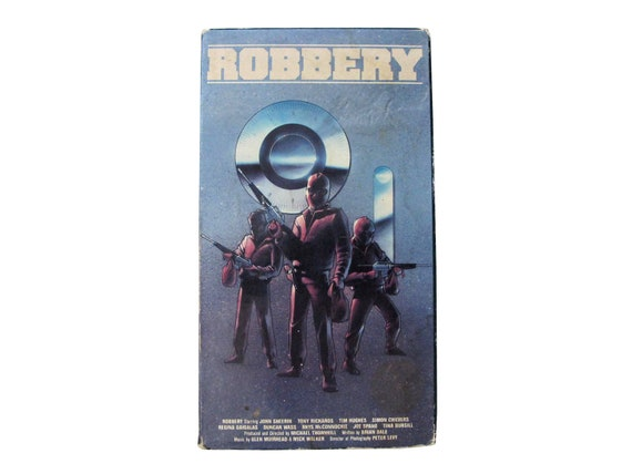 Robbery VHS