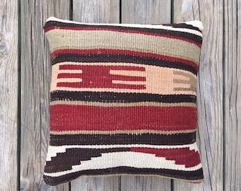 Decorative Kilim Pillow Case
