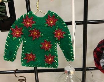 Ugly Sweater Christmas Treeornaments