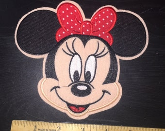 Ready to ship Medium Minnie Mouse patch
