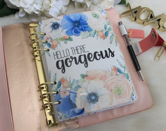 Hello There Gorgeous, Planner Dashboard, A5 Dashboard