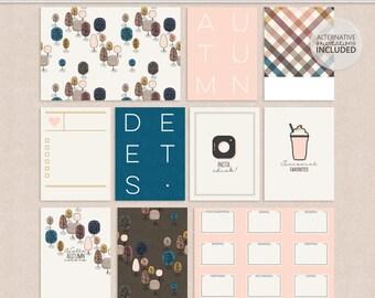 Autumn Deets - Journal Cards
