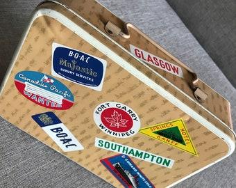 Vintage Biscuit Tin Suitcase