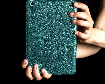 Glitter iPad Case for iPad Mini 1-3 - Turquoise (B-Stock)