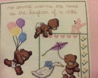 APRILSALE Dale Burdette It's a Baby counted cross stitch design booklet