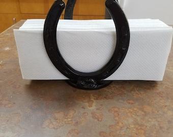 Horseshoe Napkin Holder