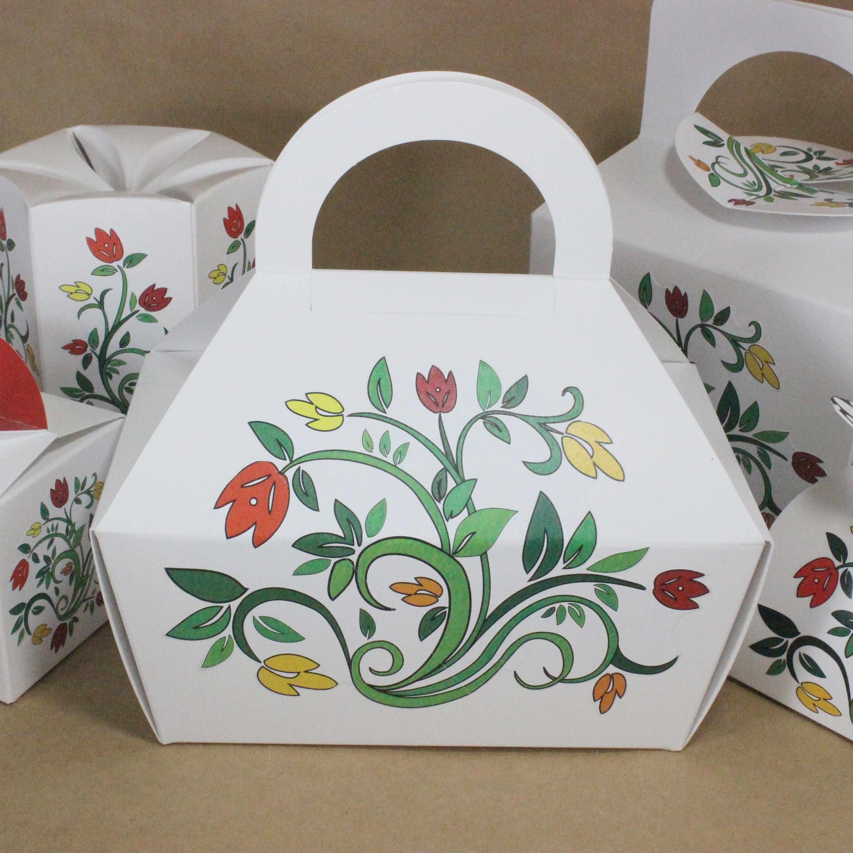 Four Gable Boxes, Gift boxes, Cookie Boxes, Wedding Favor Boxes ...