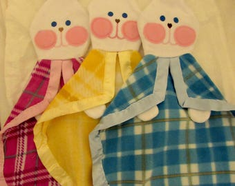 Fisher Price Replica Bunny Security Blanket