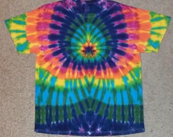 Rainbow Burst Tie Dye