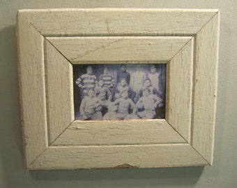 SHABBY ARCHITECTURAL Chic Salvaged Recycled Wood Photo Picture Frame 4x6 S-594-12