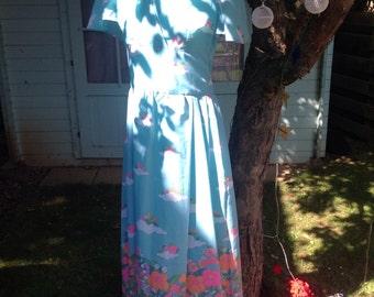 Vintage 79's fairy story maxi dress