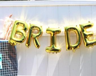 Bride,Bridal Shower Decor,Bridal Shower Sign,Bridal Decor,Bride Decorations,Bride Gift,Bride Banner,Bride Balloons,Here Comes the Bride