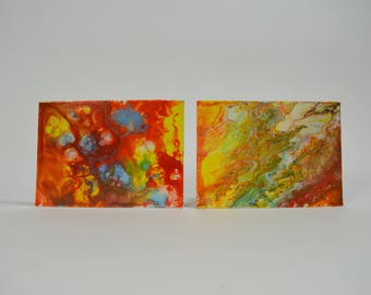 Summer Warm Acrylic Series Canvas Painting