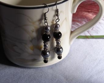 Beaded Earrings (2 pairs)
