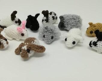 Baby Rabbit Crochet Pattern, Small Bunny Tutorial
