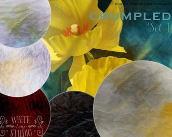 Crumpled Photoshop Textures Collection #1 - Special