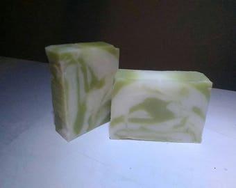 Eucalyptus and Spearmint handmade artisan soap