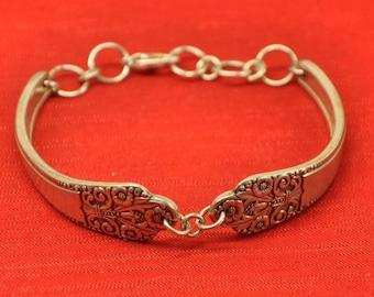 Precious Silver Spoon Bracelet, Silverware Jewelry