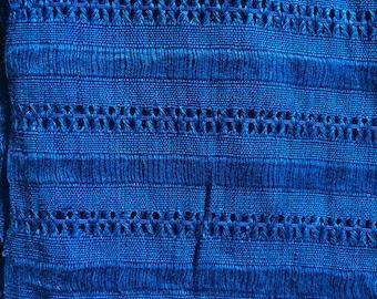 Shawl - Guatemalan 100% Cotton, Hand Spun, Hand Dyed & Hand Woven