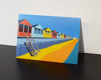 Pack of five Southwold Themed cards
