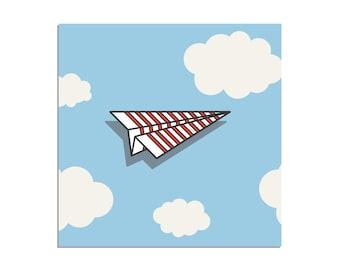 Paper Plane - Enamel Pin