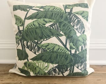 Palm Branches Pillow Cover (Design 3)