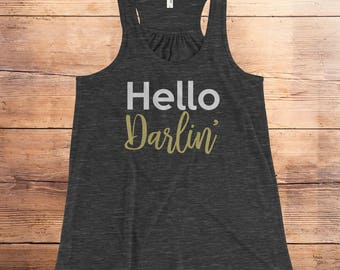 country music shirts, country music shirt, hello darlin, darlin, hello darling, country girl shirt, country shirt, southern belle, cowgirl