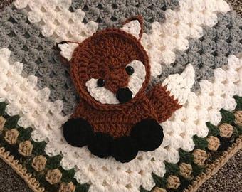 Crochet Pattern - INSTANT PDF DOWNLOAD - Applique Pattern - Crochet Pattern - Crochet - Applique - Woodland Friends