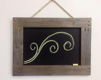 Australian Up-Cycled Hand Made Rustic Chalkboard Cafe Wedding Sign Kitchen Notice Board Hanging Chalk Board Mini Blackboard Signs