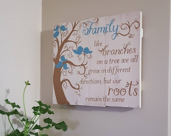 Family like branches on a tree CREAM