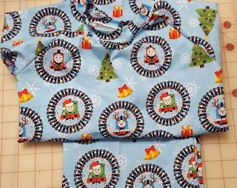 Thoms the Train Christmas Pajamas.  In 2T-4T