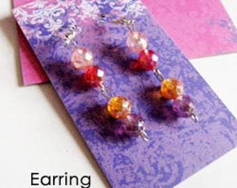 Satin Doll Earring of the Month Club 3 Months, 6 Months or 1 Year Subscription