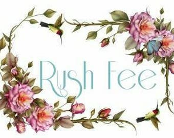 Two Week Rush Fee - Contact us prior to purchasing